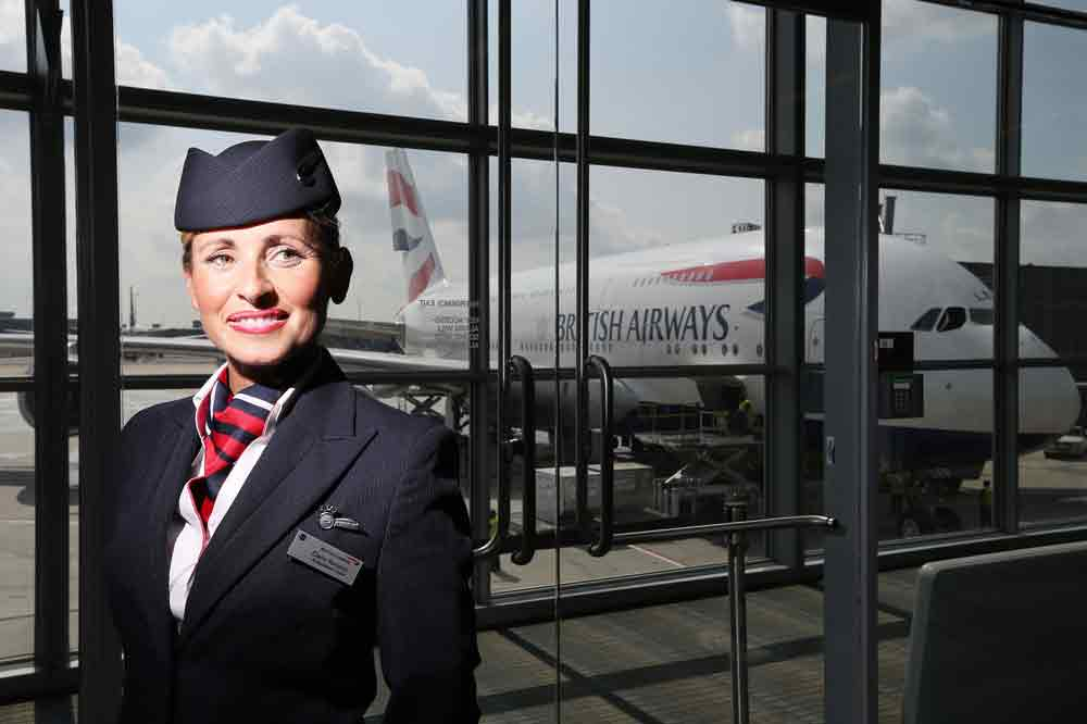 British Airways: Kabinenpersonal im Streik, weil Konzern Bonus abschaffen will (Foto: British Airways)