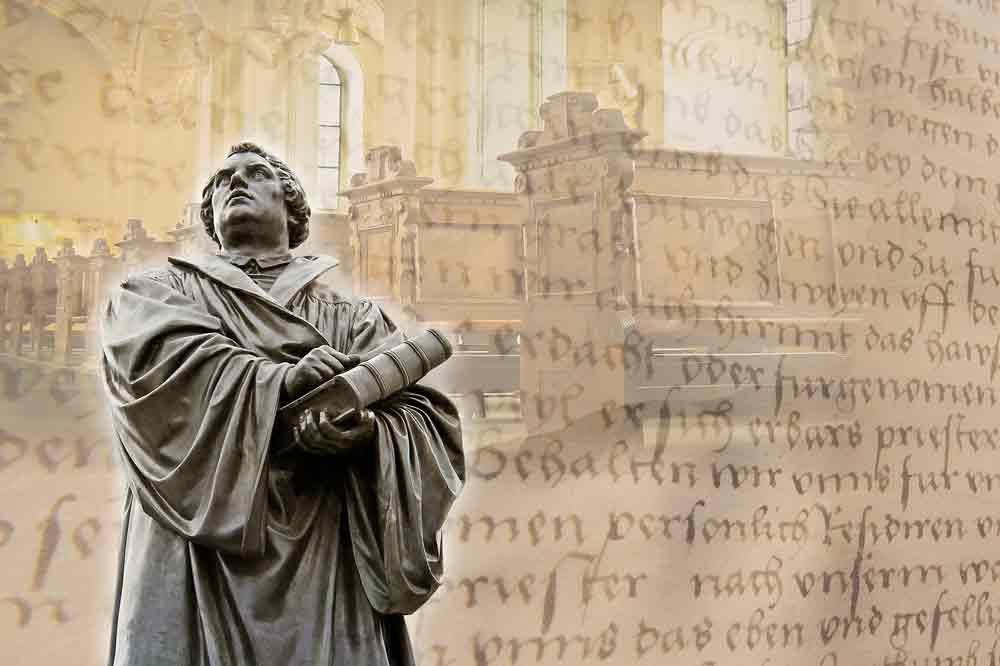Auf den Spuren von Martin Luther und 500 Jahre Reformation (Foto: Andreas Breitling, Pixabay)