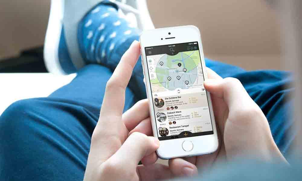 """Innovative Ideen wie """"myLike"""" können in der neuen Start-up Lounge präsentiert werden"""