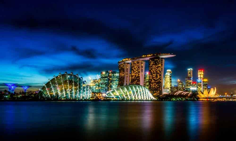 Singapur: Asiens schönste Steueroase wird ab 2018 von Lufthansa direkt angeflogen (Foto: David Mark, Pixabay)