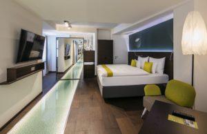 Das Hotel Arcotel Donauzentrum Wien überrascht Reisende mit coolem Design und digitalen Extras