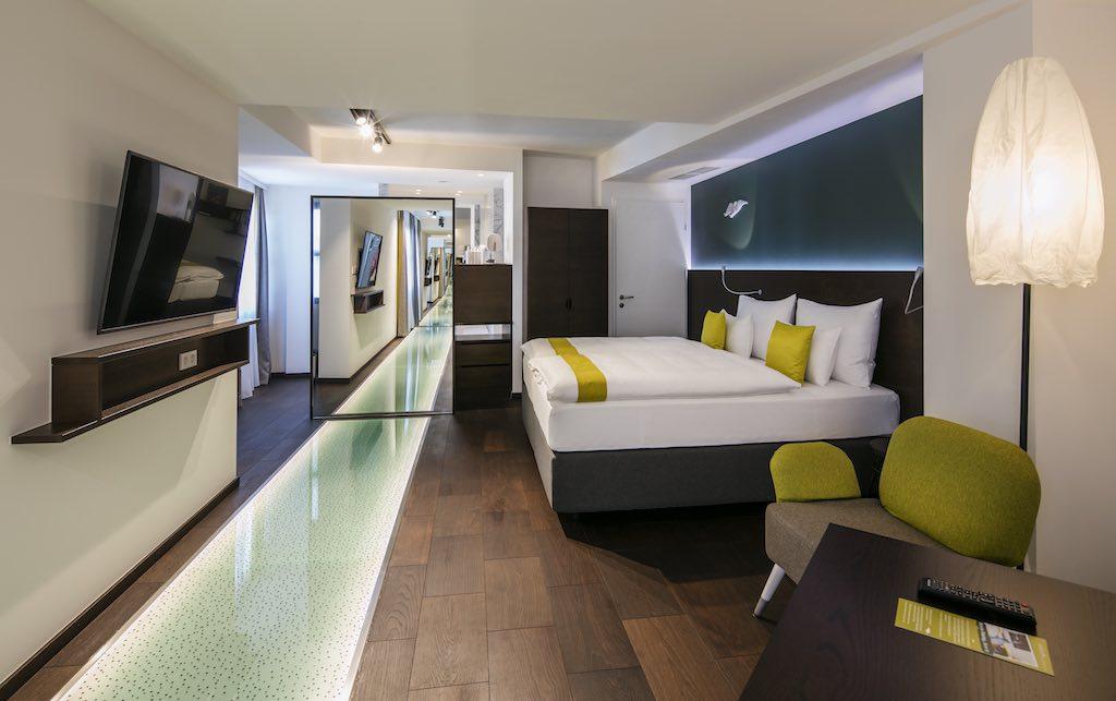 Das Hotel Arcotel Donauzentrum Wien überrascht Reisende mit collem Design und digitalen Extras