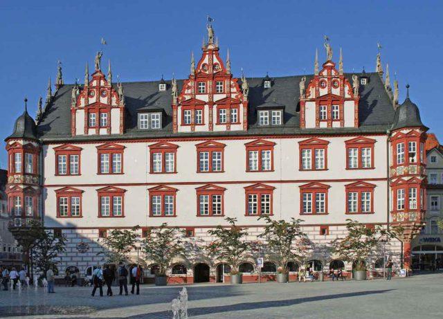 Hotel Vienna House in der ehemaligen Residenzstadt Coburg
