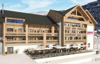 Neueröffnung im Dezember 2017: COOEE Adeo Alpine Hotel Gosau (Visualisierung: Zuchna)