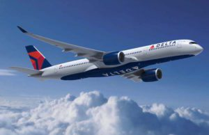 Delta Air Lines fliegt mit dem neuen Airbus A350-900 von Detroit nach Amsterdam und Shanghai