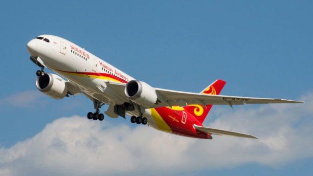 Fluhzeug der Hainan Airlines