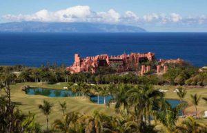 Teneriffa: Hotelkomplex Terrazas mit Blick aufs ;der