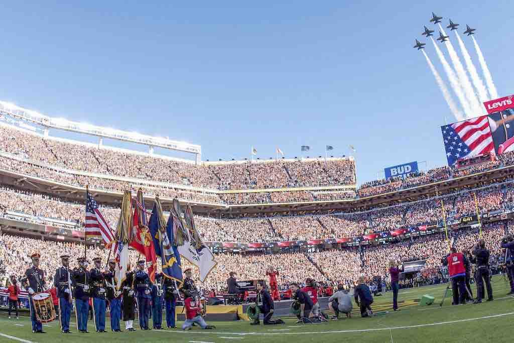 Super Bowl: Stadion in den USA