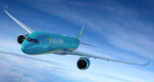 Vietnam Airlines: Airbus A350 900 in der Luft
