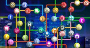 Viele Apps sind vernetzt