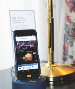 Gratis-Smartphone im Hotel Opera in Zürich