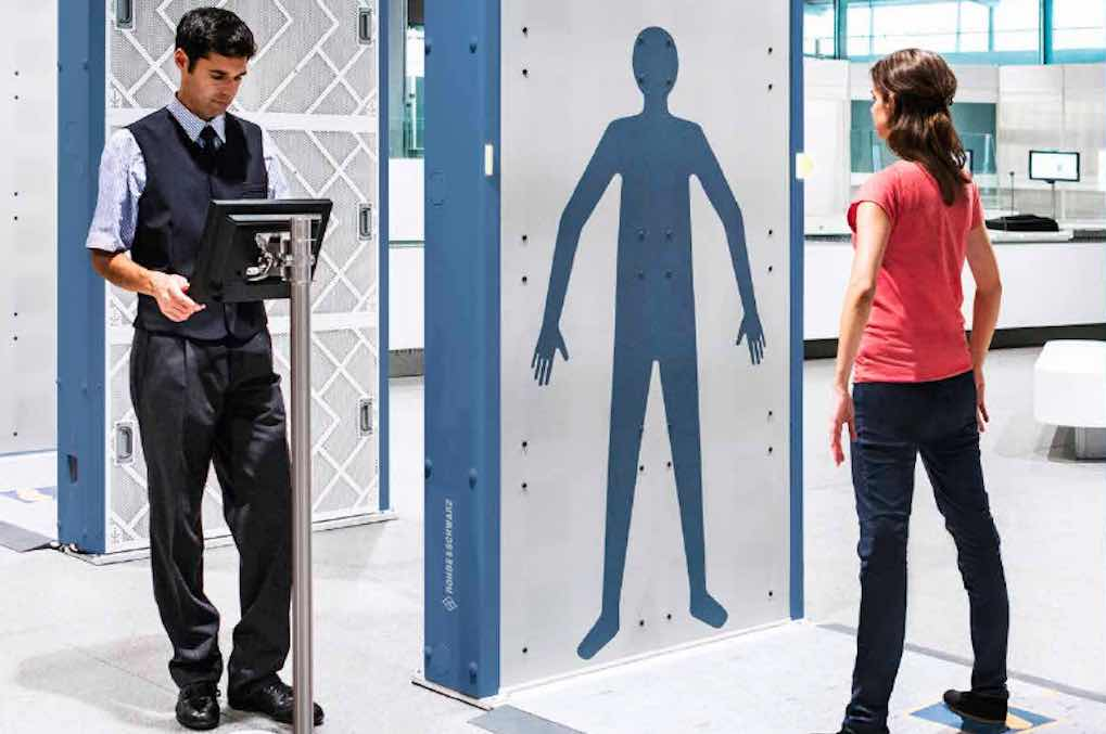Kommen Körperscanner Auf Allen Flughäfen Travelbusiness