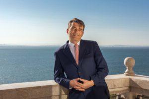 General Manager Nicolas Pezout im Mövenpick Hotel du Lac Tunis