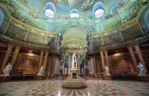 Prunksaal in der Nationalbibliothek