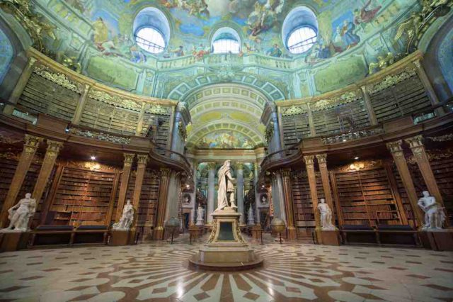 Prunksaal in der Nationalbibliothek