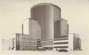 ZGeplante Zentralbibliothek 1937