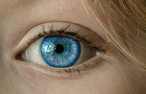 Iris eines Auges: Mit allen Sinnen auf Reise gehen