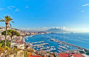 Austrian Airlines: Blick auf Neapel