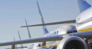 Ryanair-Maschinen vorm Start