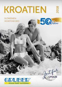 Gruber Reisen: Kroatien Katalog