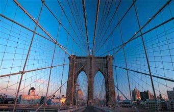 Das andere Wahrzeichen von New York – die Brooklyn Bridge (Foto: TB, Archiv)