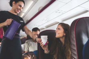 Wizz Air: Freundliches Service an Bord