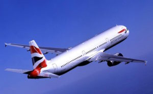 Flugzeug der British Airways