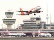 Dreimal wöchentlich hebt der Low Cost Carrier easyJet am Flughafen Berlin-Tegel in Richtung Graz ab