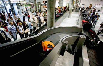 Das Fluggepäck geht verloren