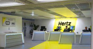 Die Hertz Corporation betreibt mit ihren Marken Hertz, Dollar, Thrifty und Firefly weltweit etwa 9.700 Mietwagen-Stationen und gehört zu den größten Mietwagen-Anbietern an Flughäfen. Hertz wurde vor 100 Jahren gegründet