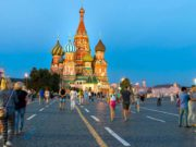 Business in Russland: Roter Platz in Moskau