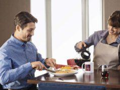 Im Comfort Hotel wird auf das Frühstück großer Wert gelegt