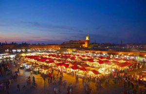 Marrakesch: Marktplatz Djemaa el Fna