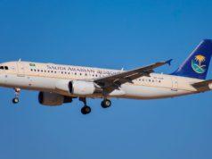 Viermal wöchentlich startet die Saudia mit einem Airbus A320 zum Direktflug von Wien nach Riad und Dschidda (Foto: Meteb Ali, WIki Commons)
