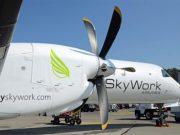 SkyWork fliegt von Wien nach Bremen