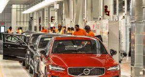 Im ersten Volvo-Werk in den USA rollt der neue Volvo S60