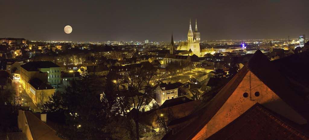 Zagreb ist die Hauptstadt der Republik Kroatien (Foto: Souvaroff, Wikimedia Commons)
