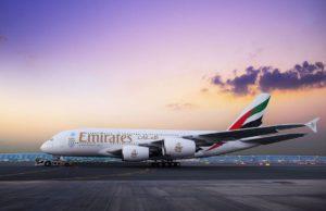 Mit dem Airbus A380 erhöht die Airline aus Dubai damit die Flugkapazität nach Osaka