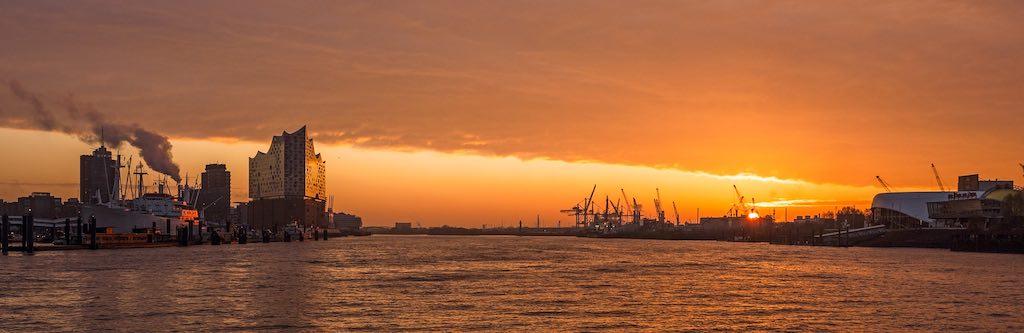 Hamburg, das Tor zur weiten Welt, ist ideal für ein Start-up (Foto: Pixabay)