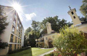Das Hotel Arcotel Castellani Salzburg bietet für Meetings auch die Alte Pfarrei im denkmalgeschütztem Gebäude