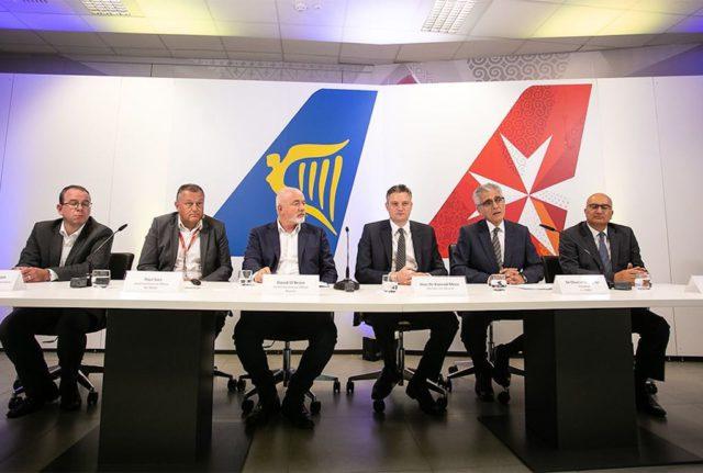 Air Malta und Ryanair haben eine strategische Partnerschaft für den Online-Vertrieb gebildet (Foto: Air Malta)