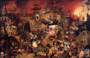 Erste monographische Ausstellung zu Pieter Bruegel d. Ä. im Kunsthistorischen Museum Wien zu sehen – so auch sein Bild Dulle Griet (© Museum Mayer van den Bergh)