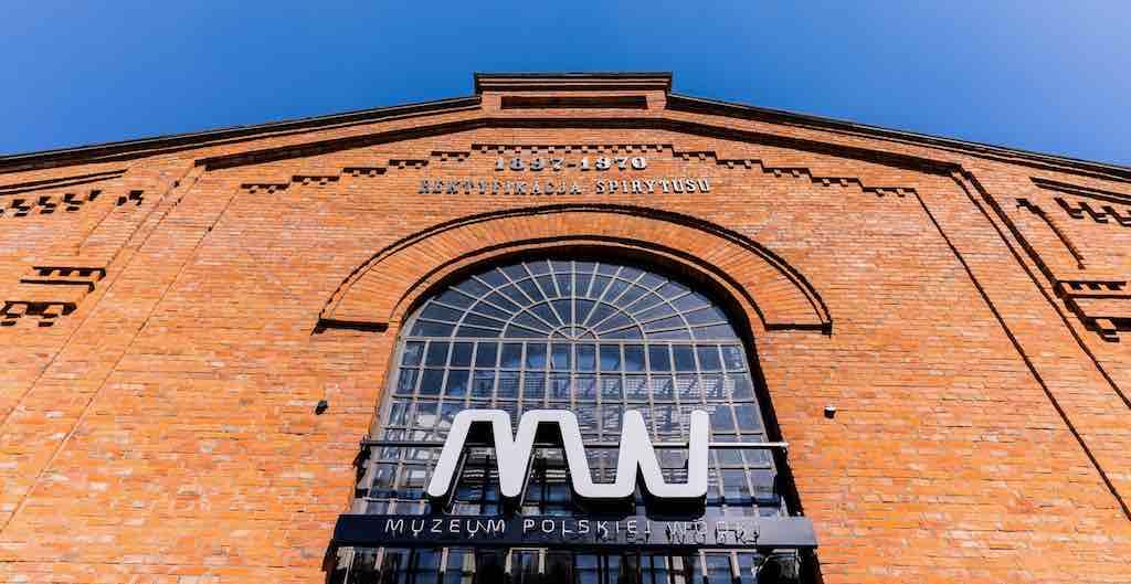 """Das Wodka Museum in Warschau steht auf dem Gelände der ehemaligen Warschauer Wodka-Fabrik """"Koneser"""""""