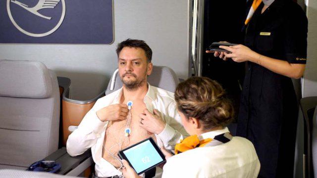 Wenn das Herz aus dem Takt kommt: EKG-Diagnose an Bord der Lufthansa mit dem iPad oder iPhone