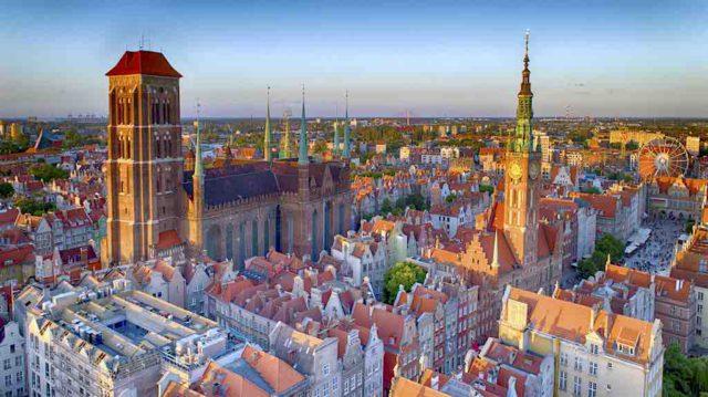 Die Hafenstadt Danzig (Gdańsk) an der Ostseeküste gehört zu den schönsten Metropolen in Polens (Foto: POT)