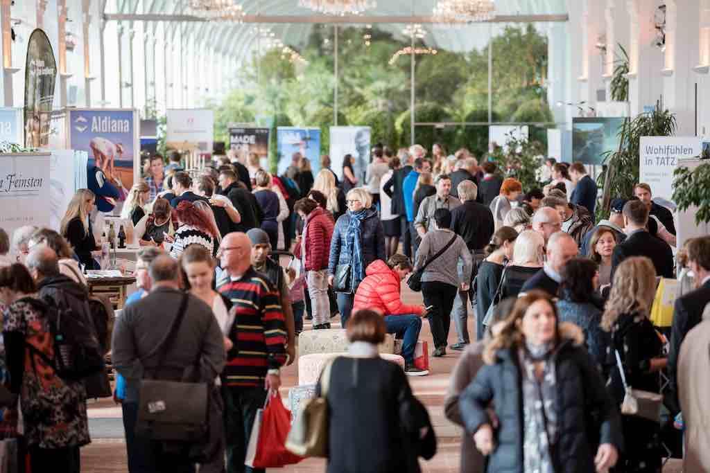 Reiselust und Reiseglück finden Besucher im ReiseSalon (Foto: © ReiseSalon Klaus Ranger)