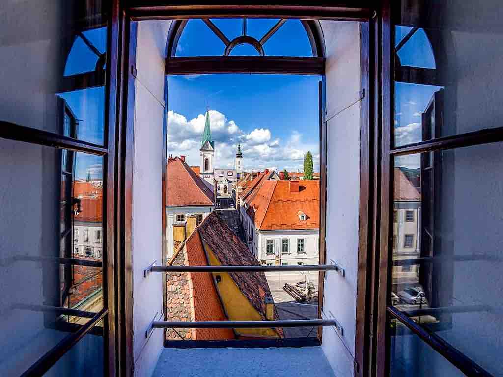 Blick auf die Oberstadt von Zagreb (Foto: J. Duval, InfoZagreb)