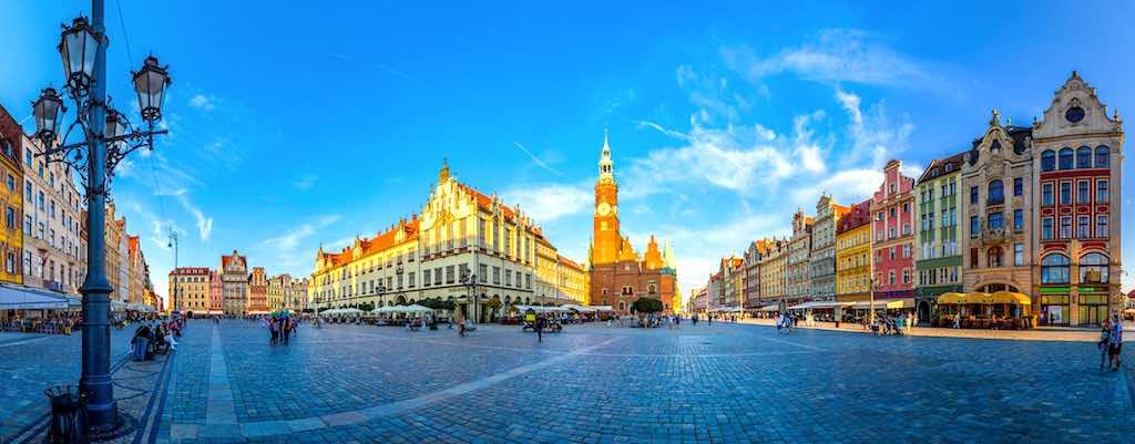 Der Marktplatz in Breslau: Ein einzigartiges Panorama vielfältiger Stilepochen (Foto: POT)