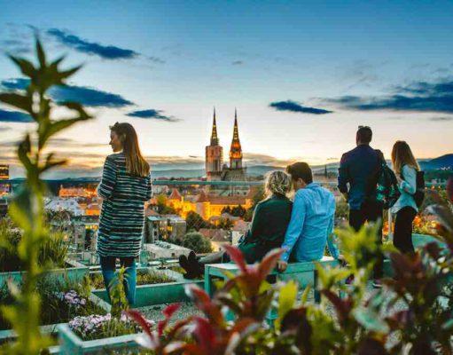 Die kroatische Hauptstadt Zagreb ist ganzjährig eine vielversprechende Destination für Geschäfts- und Privatreisende (Foto: M. Gasparovic, Info Zagreb)