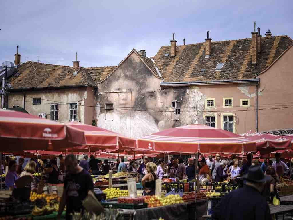 Der beliebte Dolac Markt in Zagreb (Foto: Julien de Casabianca, InfoZagreb)